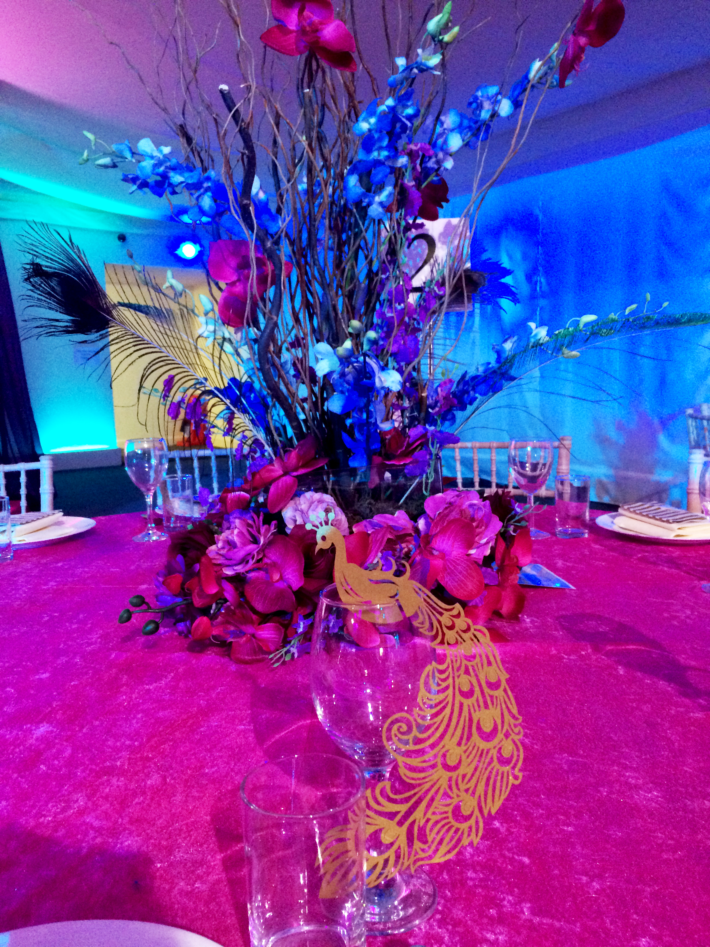 Peacock Themed Wedding Decorations - A perfect theme for ...