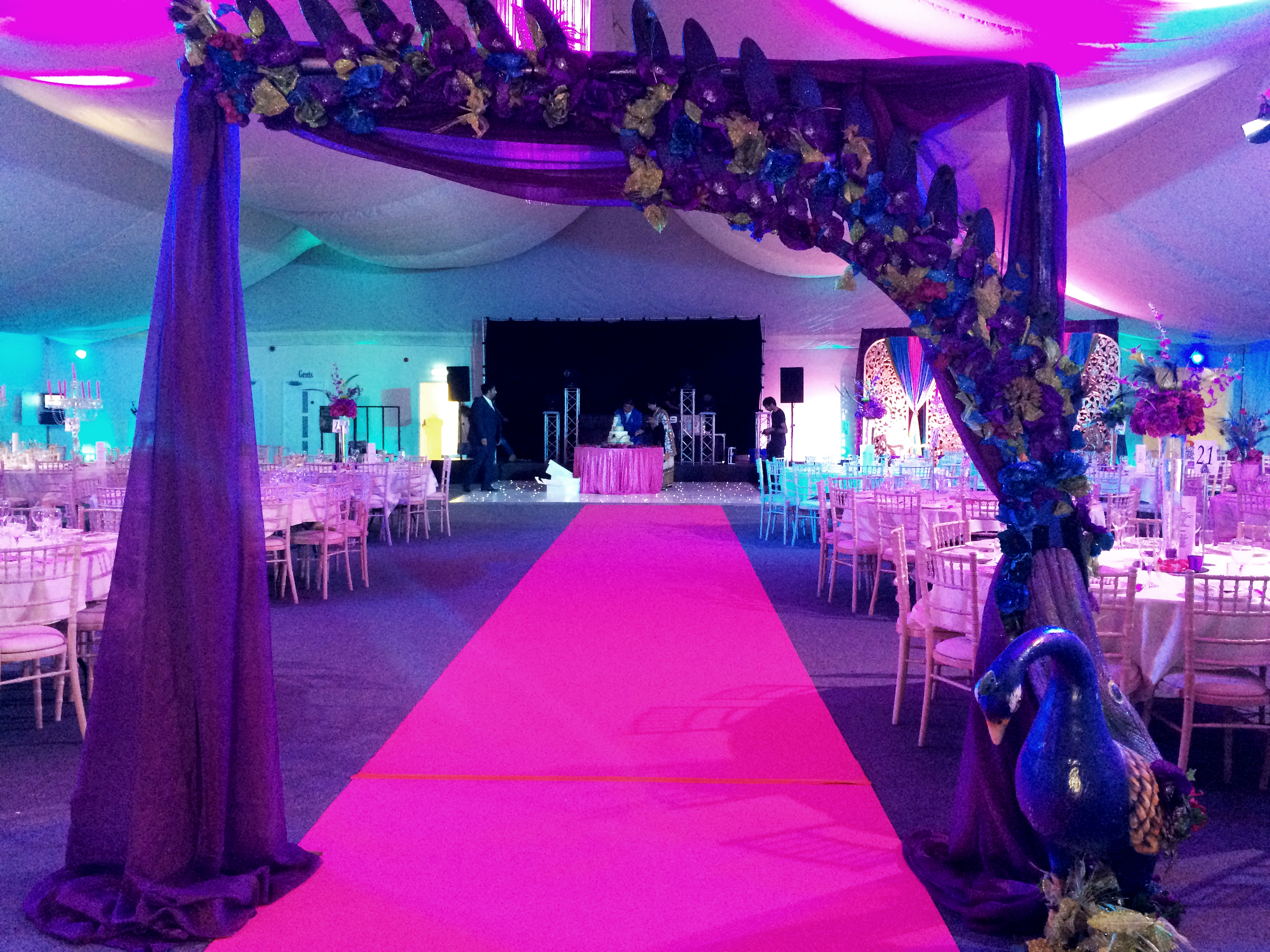 Peacock Themed Wedding Decorations A Perfect Theme For